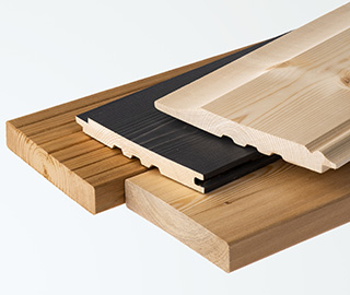 Timber for external use
