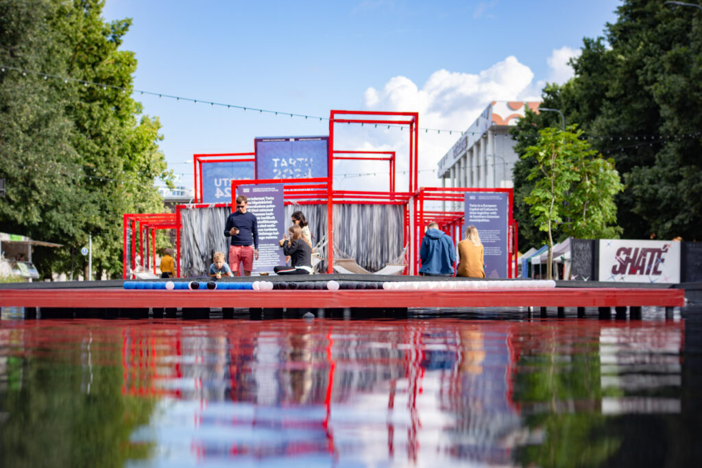 Car-Free Avenue,  summer project at Tartu